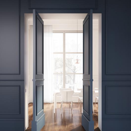 Linvisibile puerta pivotante de eje vertical | Brezza