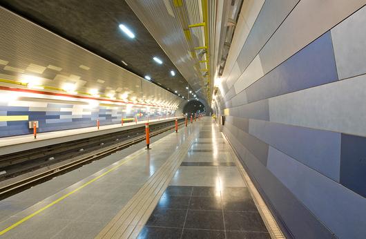 Metro Stations Santiago, Chile © Cristián Barahona