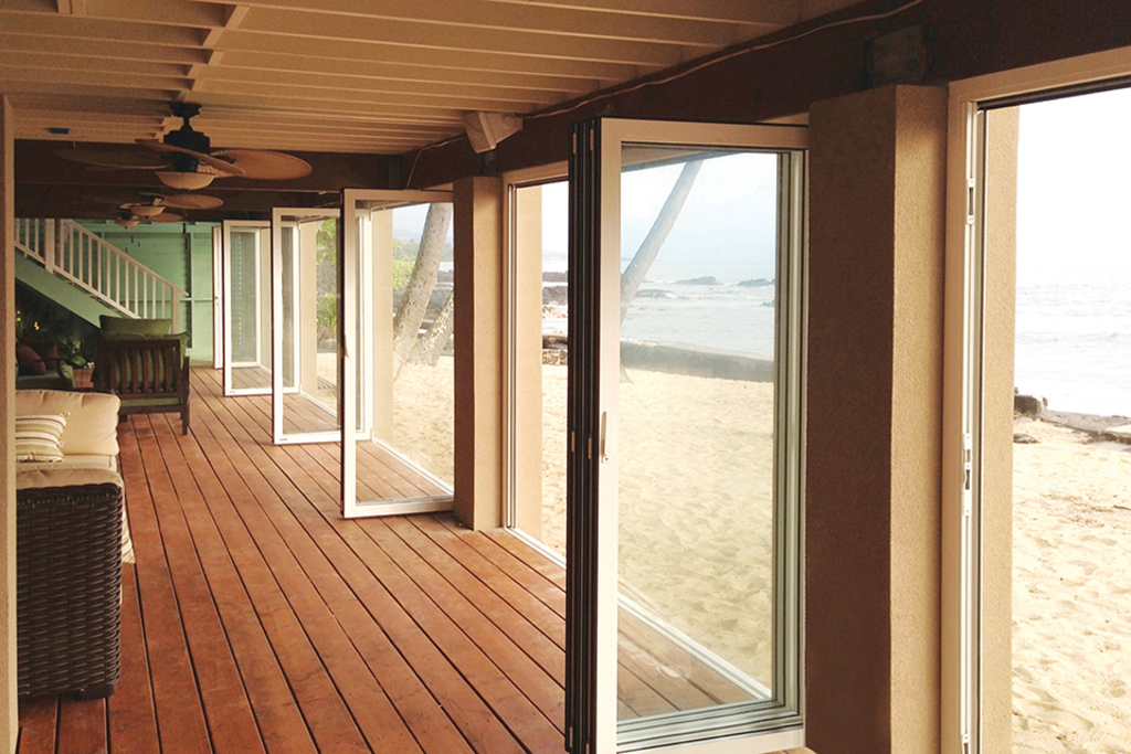 Monterey Bi-Folding Glass Wall System
