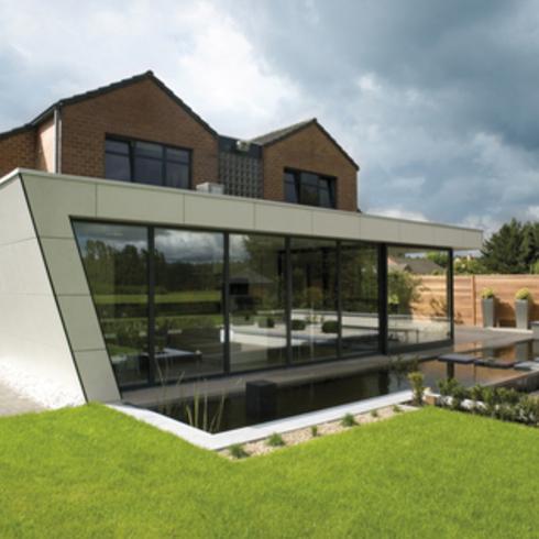 Revestimiento Natura, Casa ampliada en Bélgica - Pizarreño / Etex Chile