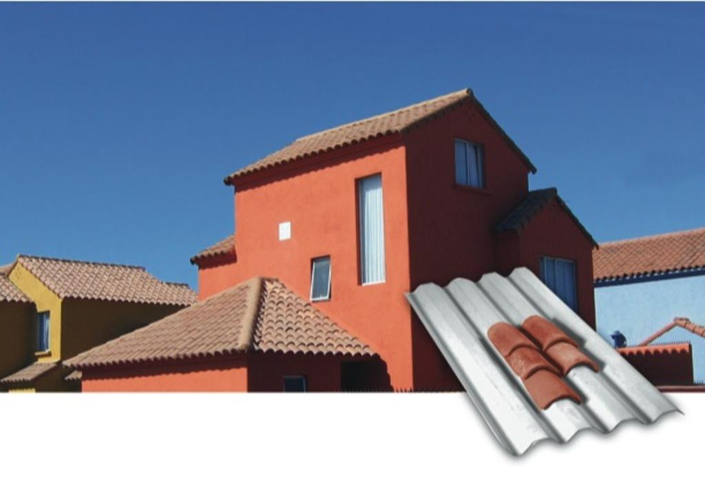 Soporte para tejas soporteja de pizarre o for Techos de tejas para patios exteriores