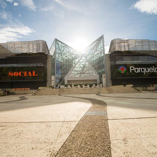 Concreto Argos en Centro Comercial Parque La Colina
