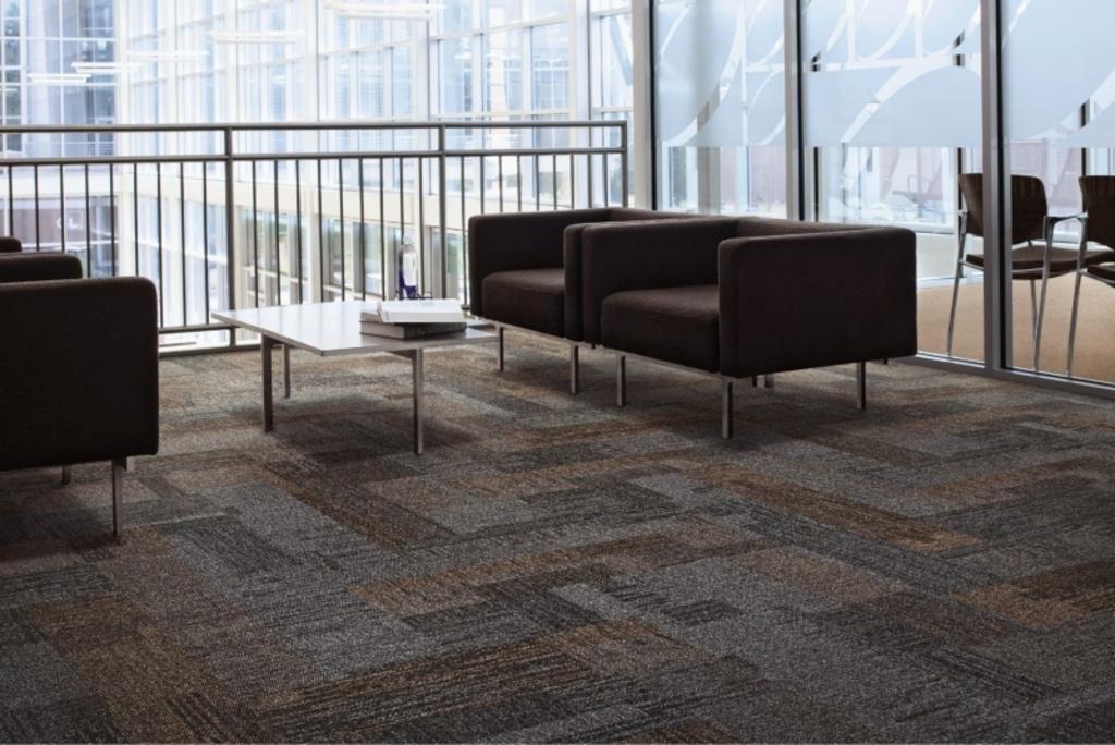 Carpetes Modulares Verticals