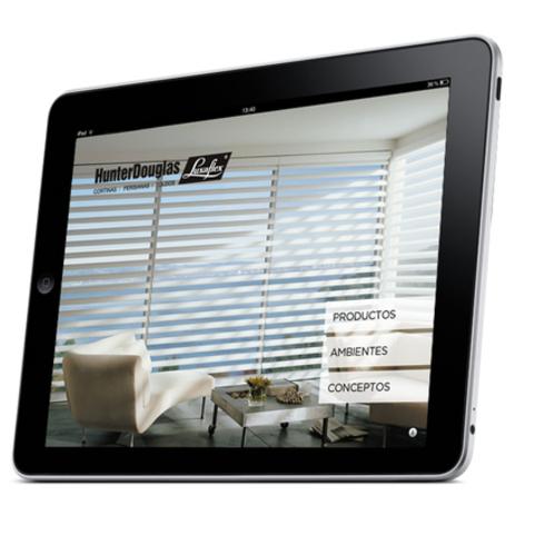 Guia Luxaflex Catalogo virtual para Ipad y Tablets