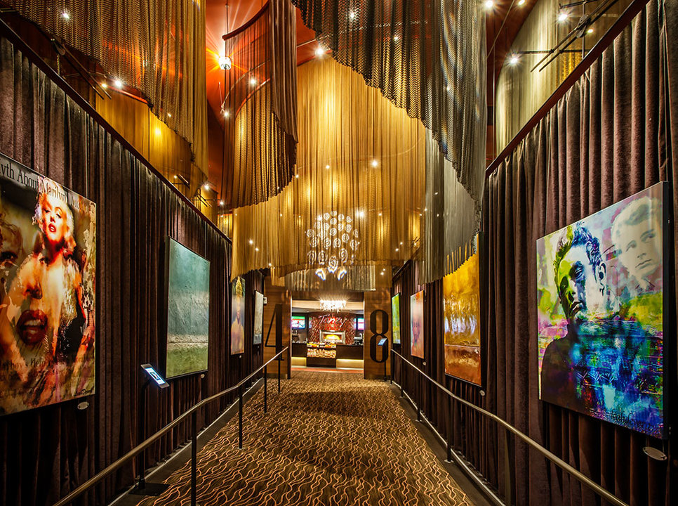 Fabricol™ Wire Fabric System in iPic Theaters