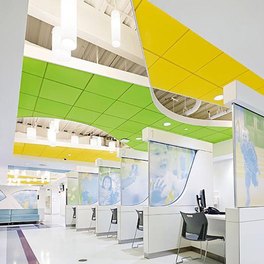 Calla™ y Calla™ Vector Sistema de Plafón / Armstrong Ceilings