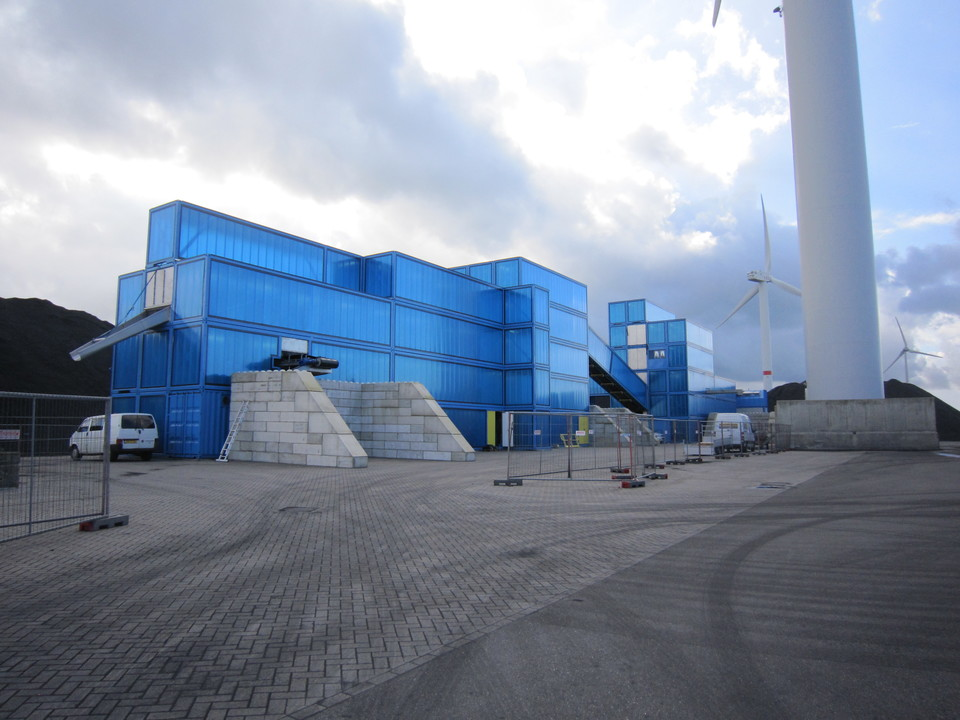 Enerco Translucent Facade Warehouses
