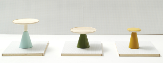 Table and Stools - Pion