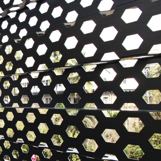 Perforated Metal Sunscreens
