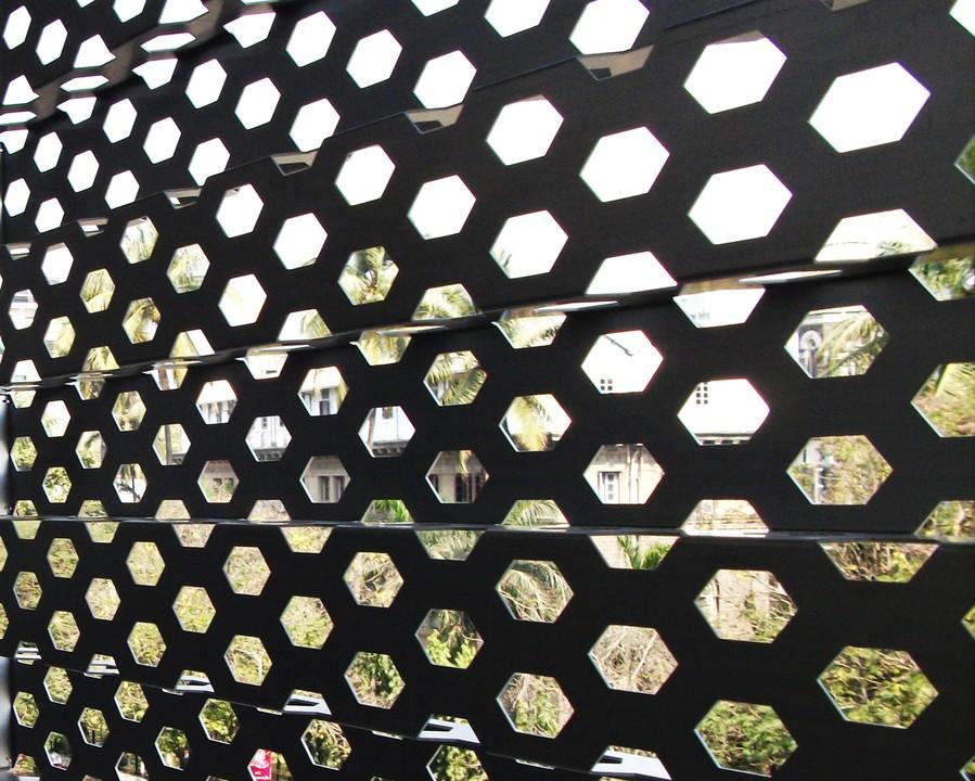 Perforated Metal Sunscreens