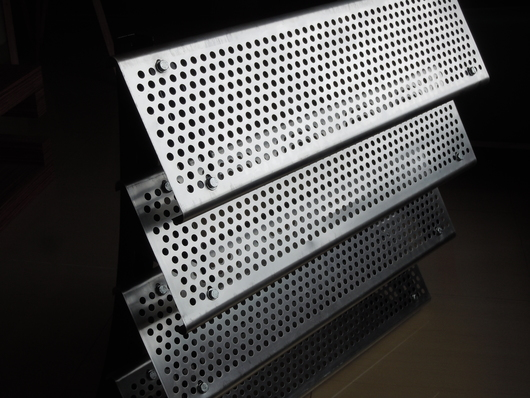 Perforated Metal Sunscreens - Diamond Metal Screens