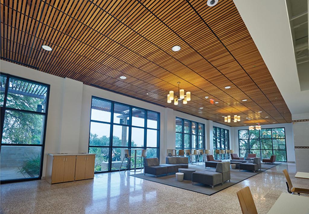 Sistema de Plafón WoodWorks® Linear