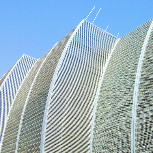 Perforated Metal Facades - Balagi Agora Mall
