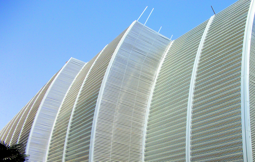Perforated Metal Facades - Balaji Agora Mall