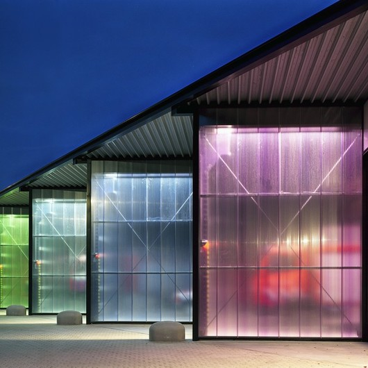 Translucent Building Elements in Facades