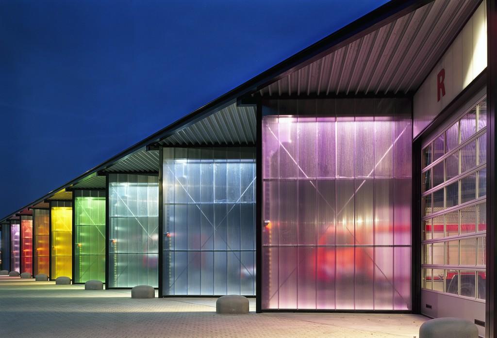 Translucent Building Elements in Facades