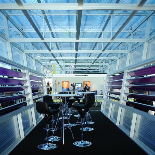Translucent Building Elements in Interior Design / Rodeca
