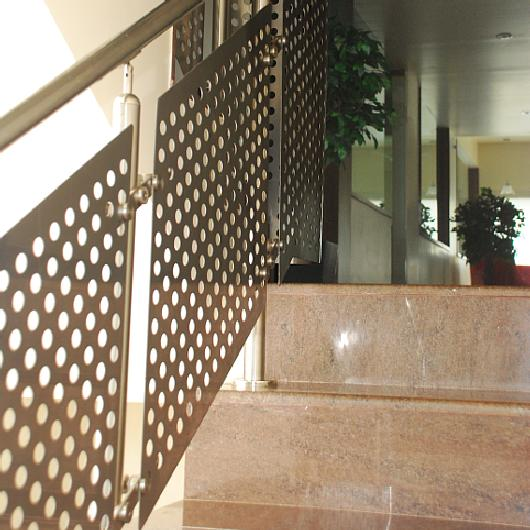 Perforated Metal Balustrades