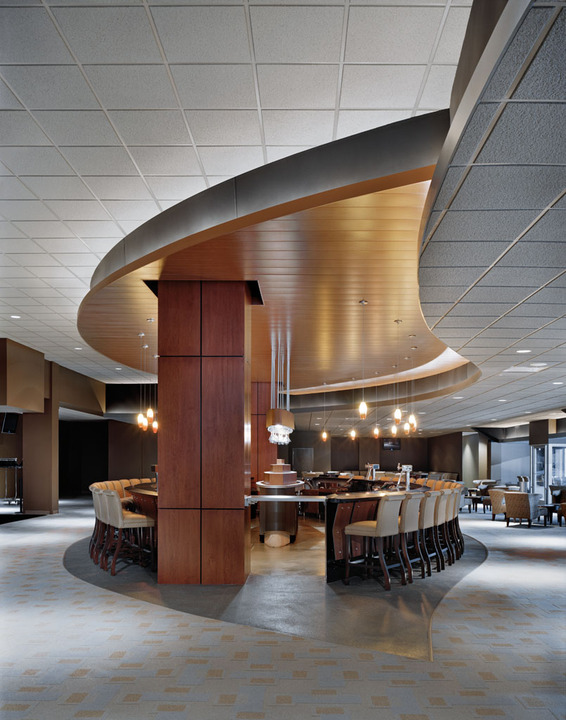 Architectural Metal Panels Ceiling : Metal ceilings woodwright c from hunter douglas