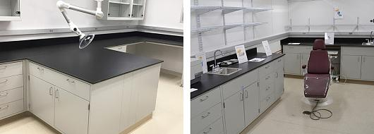 FunderMax Panels in Laboratories and Hospitals