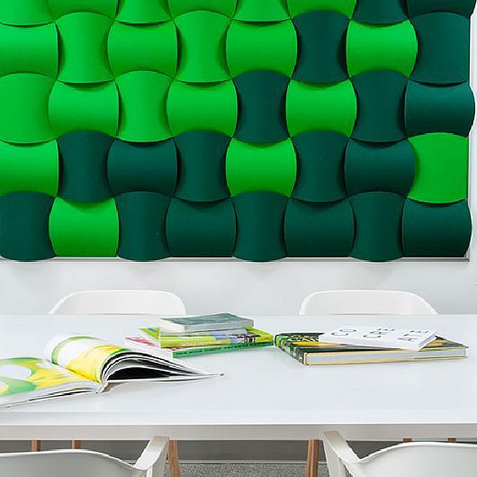 Revestimientos Interiores 3form - Wovin Wall
