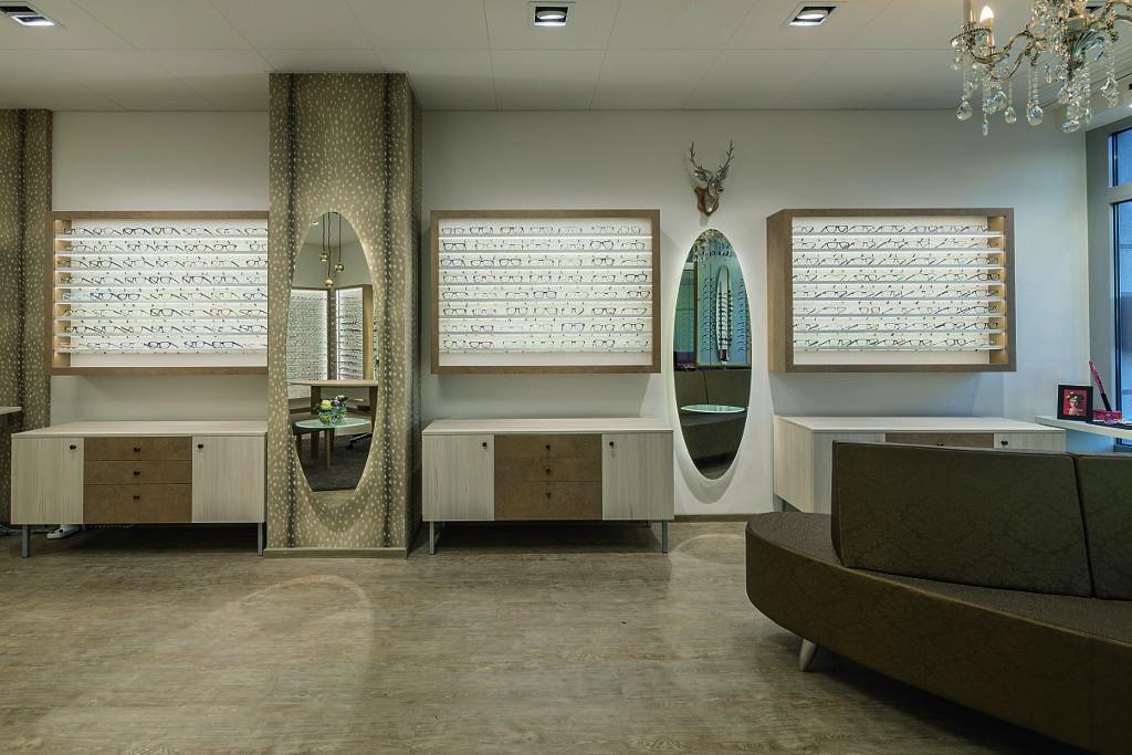 Wooden Decors for DUO Optik Interior Design