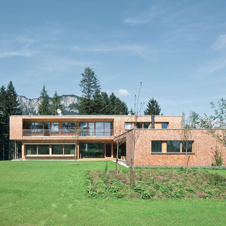 Egger OSB in Single Family House