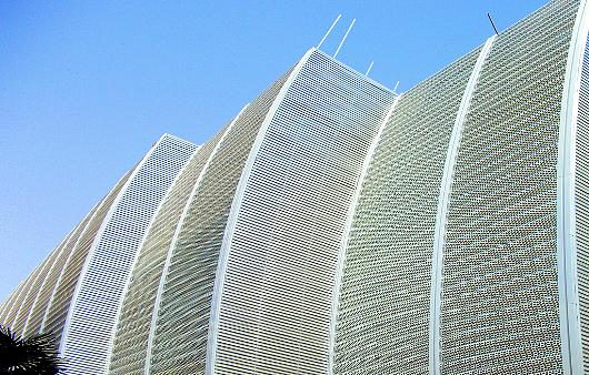 Perforated Metal Facades From Diamond Metal Screens