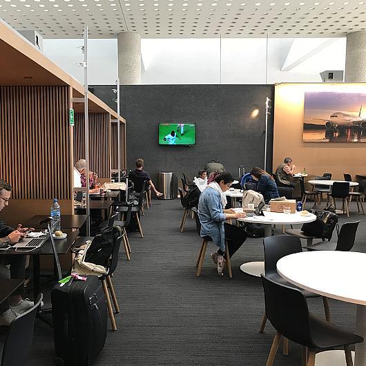 Aplicación de Echo Grip en Salón Premier Aeroméxico