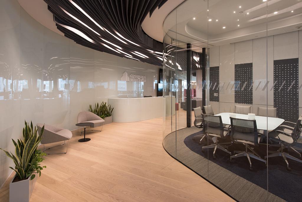 Aplicaci n de echo grip en oficinas cushman wakefield de for Aplicacion para diseno de interiores 3d
