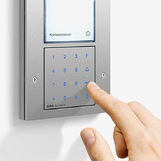Gira Keyless in - Door communication