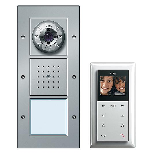 Home station video Plus - Door communication / GIRA