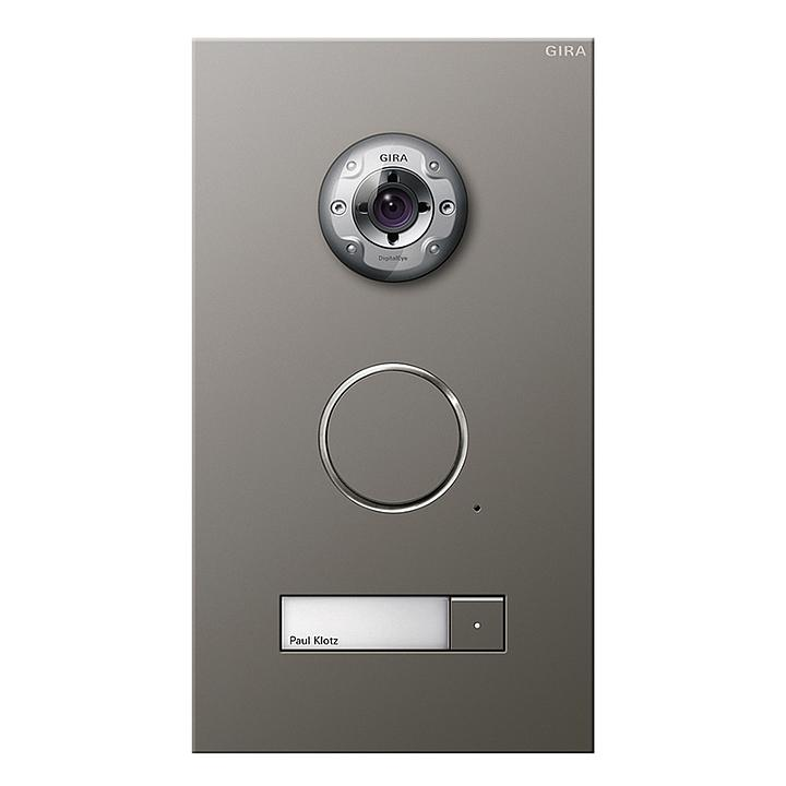 Door communication station, stainless steel