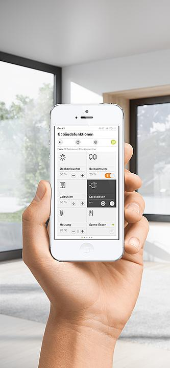 Gira X1 app - Home automation