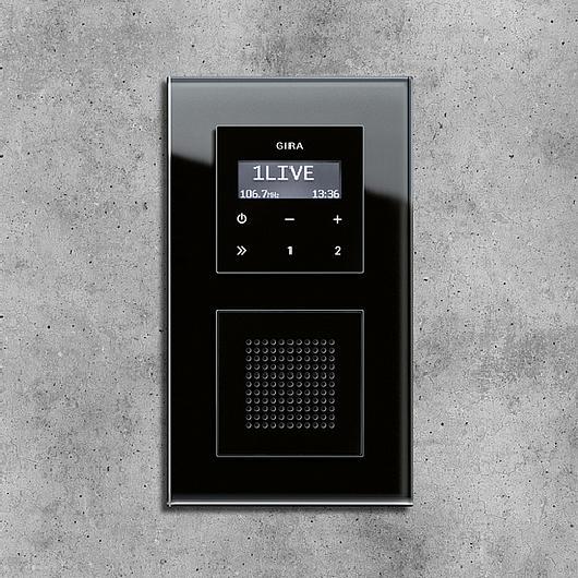 Gira RDS flush-mounted radio