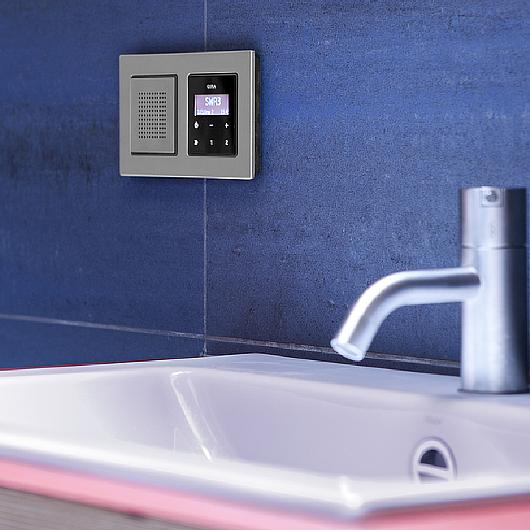 gallery of gira rds flush mounted radio 6