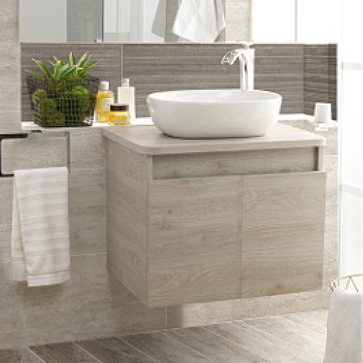 Mueble de baño LIQUID con lavamanos VESSEL / Corona