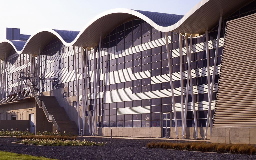 Fachadas y Cubiertas Industriales - Panel CD460 Curvo