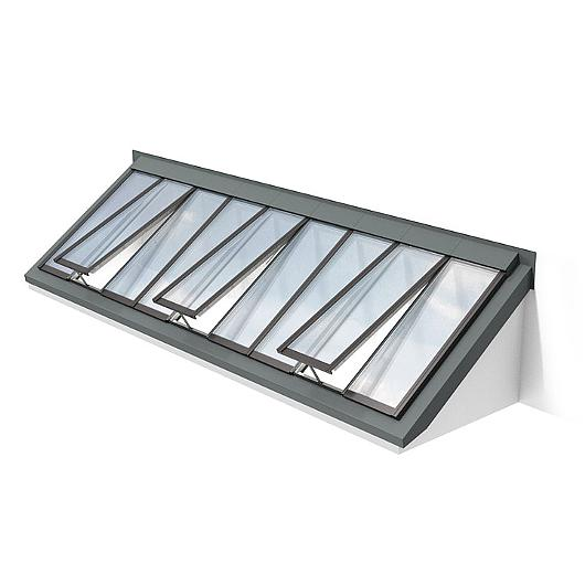 Wall-Mounted Longlight 5-40°-Modular Skylight / VELUX Commercial