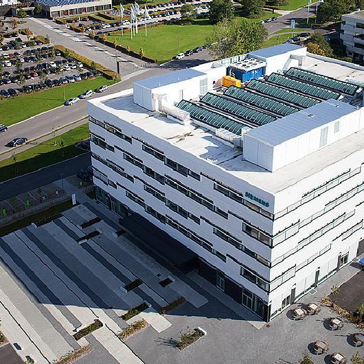 Atrium Ridgelight in Siemens Denmark / VELUX Commercial