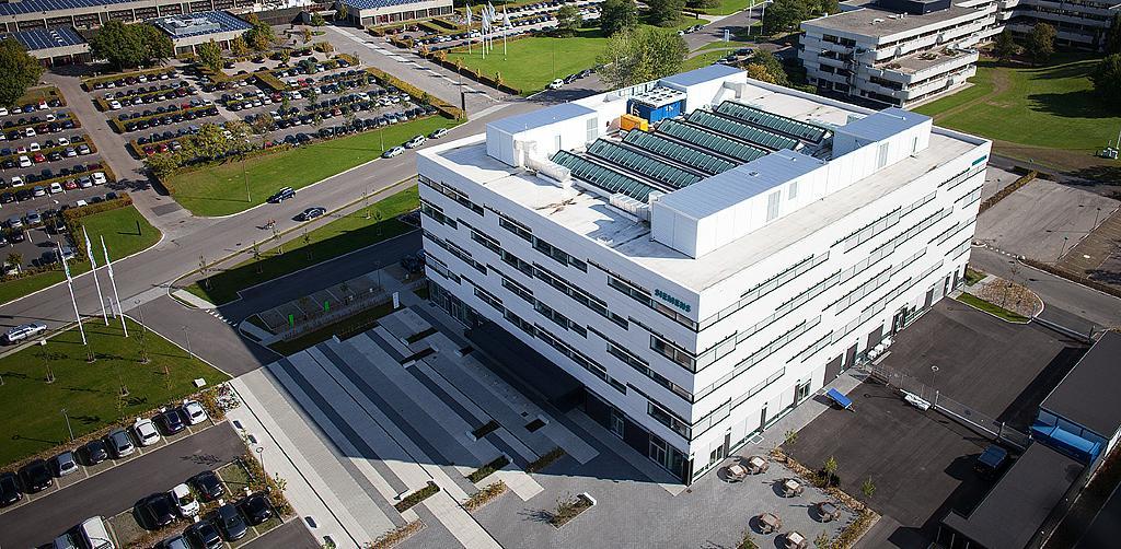 Atrium Ridgelight in Siemens Denmark