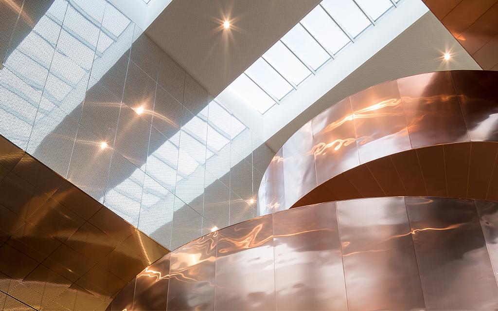 Atrium Longlight Skylights in Experimentarium