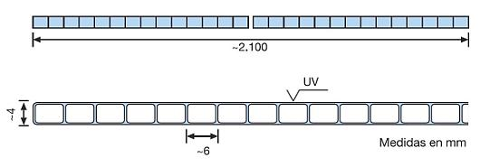 Makrolon® multi UV 4mm 2 paredes