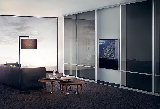 Sistema para Puertas Correderas y Closets con Marco de Aluminio