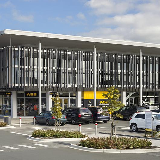 Panel Fastener for Drywall at ASB Bank in Auckland
