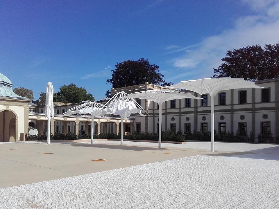 Textile Outdoor Architecture in Luitpoldbad