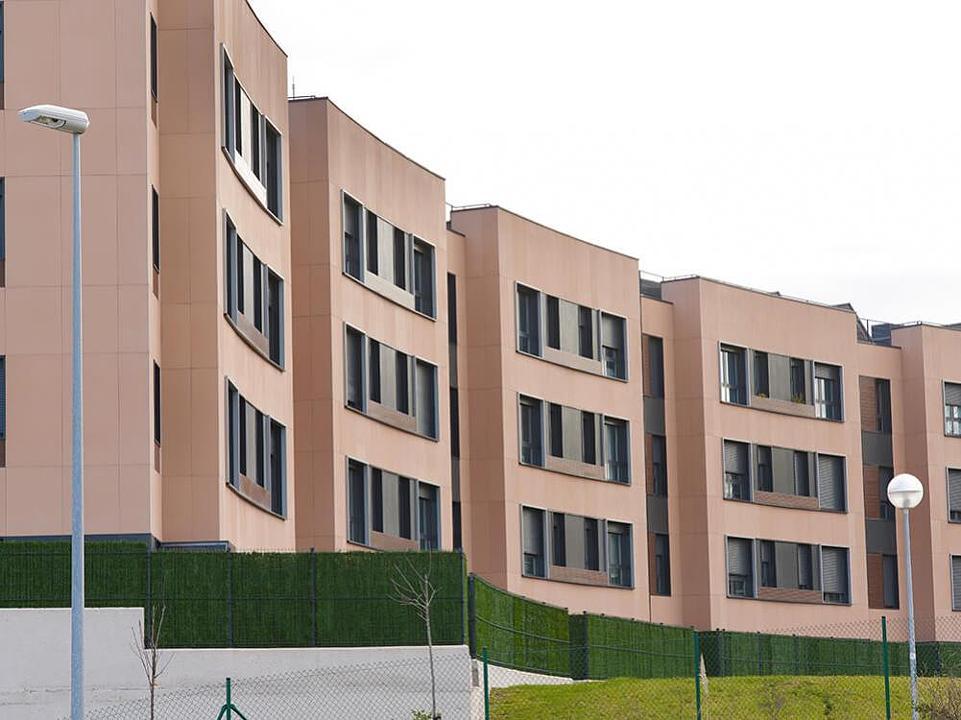 Air Facade Panels + Creaktive in Social Housing