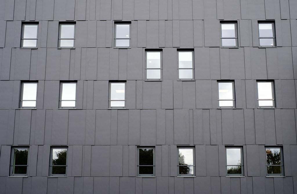 Cladding Panels in B66 Business Center