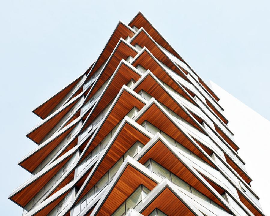 Siding Facade System in Next Level Residence