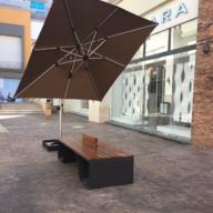 Amoblado de Plaza Comercial Isla Vallarta